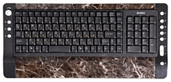 Sven Comfort 4300 Multimedia Keyboard Black-Brown USB