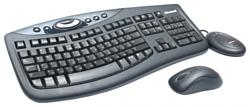 Microsoft Wireless Optical Desktop 2000 Black USB
