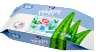 Bella Baby Happy Sensitive Aloe Vera, 64 шт