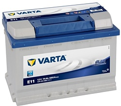VARTA BLUE Dynamic E11 574012068 (74Ah)