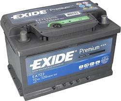 Exide Premium 72 R (72Ah) EA722