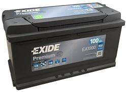 Exide Premium 100 R (100Ah) EA1000