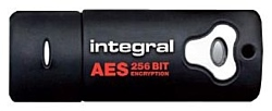Integral USB 2.0 Crypto Drive with AES Security 16GB