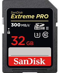 Sandisk Extreme Pro UHS-II SDHC 32GB (SDSDXPK-032G-GN4IN)