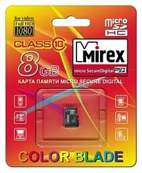 Mirex microSDHC Class 10 8GB