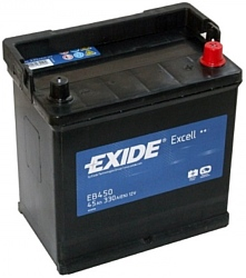 Exide Excell EB450 R+ (45Ah)