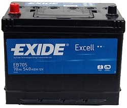 Exide Excell EB705 L+ (70Ah)