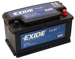 Exide Excell EB802 R+ (80Ah)