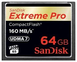 Sandisk Extreme Pro CompactFlash 160MB/s 64GB