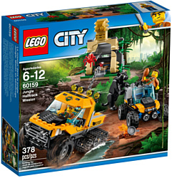 LEGO City 60159 Миссия Исследование джунглей
