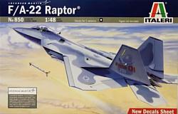 Italeri 0850 Многоцелевой истребитель F-22 Raptor
