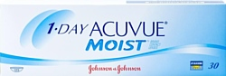 Acuvue 1-Day Acuvue Moist -2.5 дптр 8.5 mm