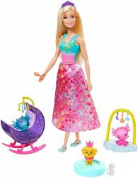 Barbie Сказочная Принцесса GJK49/GJK51