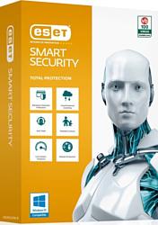 NOD32 Smart Security (3 ПК, 1 год, ключ) продление лицензии