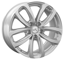 LegeArtis B123 8x17/5x120 D72.6 ET20 Silver