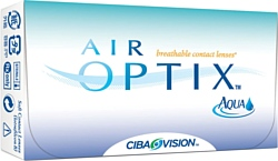 Alcon Air Optix AQUA (от -1,00 до -5,00) 8.6mm