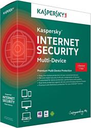 Kaspersky Internet Security 2015 Multi-Device (3 ПК, 1 год, базовый)