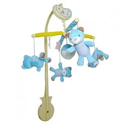 Biba Toys BM038 Мишки голубой