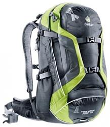 Deuter Trans Alpine Pro 28 black/green (black/kiwi)