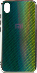 EXPERTS Aurora Glass для Xiaomi Redmi 7A с LOGO (зеленый)