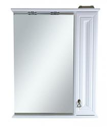 Misty Шкаф с зеркалом Лувр 60 R (Белый)