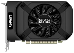 Palit GeForce GTX 1050 1354Mhz PCI-E 3.0 2048Mb 7000Mhz 128 bit DVI HDMI HDCP StormX