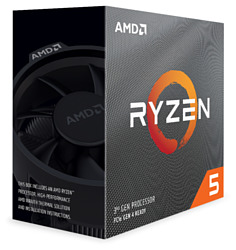 AMD Ryzen 5 3600X Matisse (AM4, L3 32768Kb)