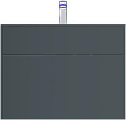 AM.PM Тумба под умывальник Inspire 2.0 80 M50AFHX0803GM (графит)