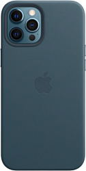 Apple MagSafe Leather Case для iPhone 12 Pro Max (балтийский синий)