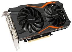 GIGABYTE GeForce GTX 1050 1417Mhz PCI-E 3.0 2048Mb 7008Mhz 128 bit DVI 3xHDMI HDCP G1 Gaming