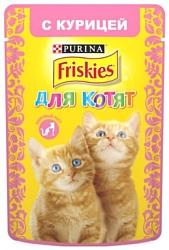 Friskies (0.085 кг) 1 шт. Для котят с курицей в подливе