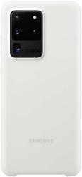 Samsung Silicone Cover для Galaxy S20 Ultra (белый)