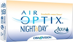 Ciba Vision Air Optix Night&Day AQUA (от -1,00 до -5,00) 8.6mm