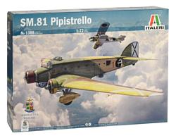 Italeri 1388 Итальянский бомбардировщик SM.81 Pipistrello