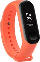 Evolution XMB34-S01 для Xiaomi Mi Band 3/4 (оранжевый)