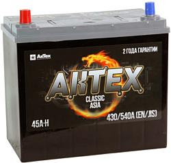 АкТех Classic Asia 6СТ-45LЗ/55B24R (45Ah)