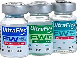 CooperVision Ultra Flex Tint -6 дптр 8.6 mm (голубой)