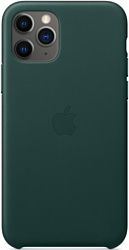 Apple Leather Case для iPhone 11 Pro (зеленый лес)