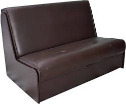 Купить прямой диван мебель-арс аккордеон 2 - шоколад 120 см .