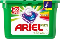 Ariel Color Pods 15шт.