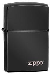 Zippo Ebony Zippo Logo (24756ZL-000003)