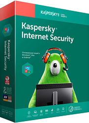 Kaspersky Internet Security (1 год, 3 устройства, BOX)