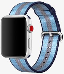 Miru SN-02 для Apple Watch (синяя полоса)