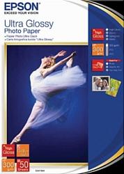 Epson Ultra Glossy Photo Paper 13x18 50 листов (C13S041944)