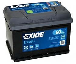 Exide Excell EB602 R+ (60Ah)