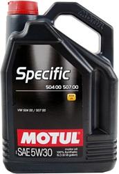 Motul Specific VW 504.00/507.00 5W30 5л