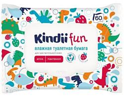 Kindii для чувствительной детской кожи, 60 шт