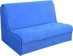 Купить прямой диван мебель-арс аккордеон 2 - астра синий в м.