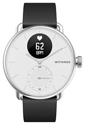 Withings ScanWatch 38mm with silicone band