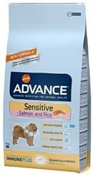 Advance (3 кг) Sensitive лосось и рис